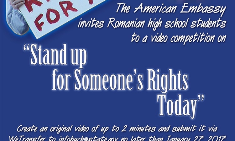 Video Contest: Stand Up For Someone's Rights Today