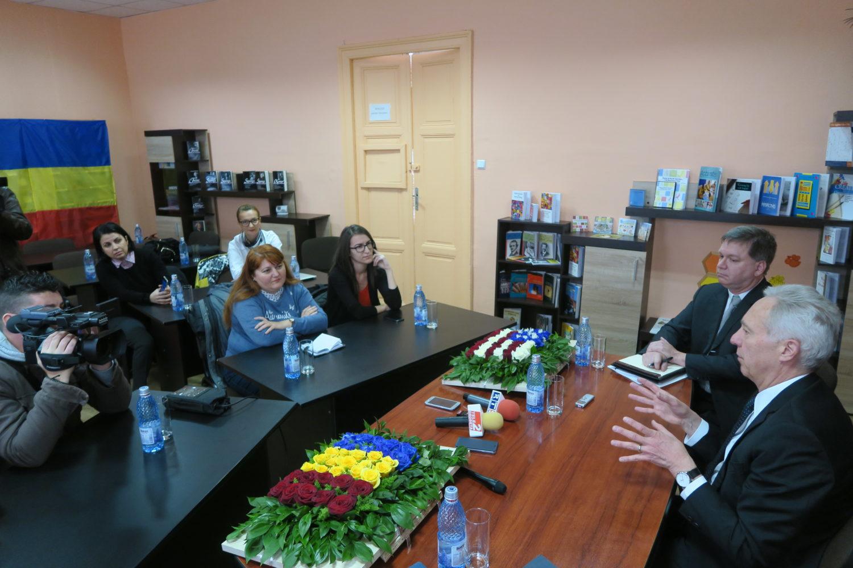 Ambasadorul Hans Klemm în Drobeta Turnu Severin